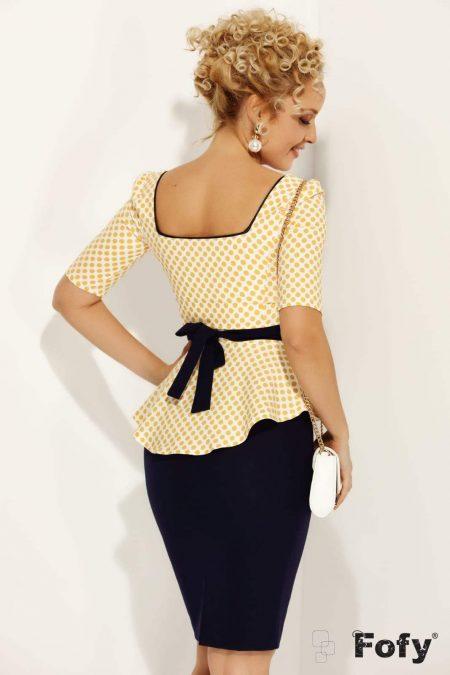Dottie Κίτρινη Μπλούζα 1158