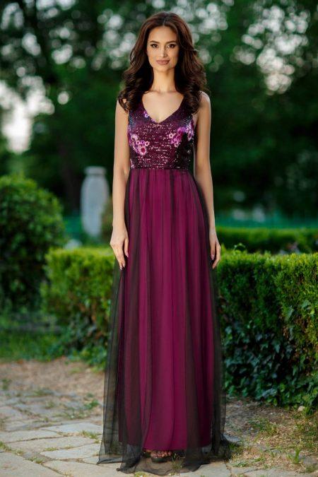 Scarlet Violet Dress