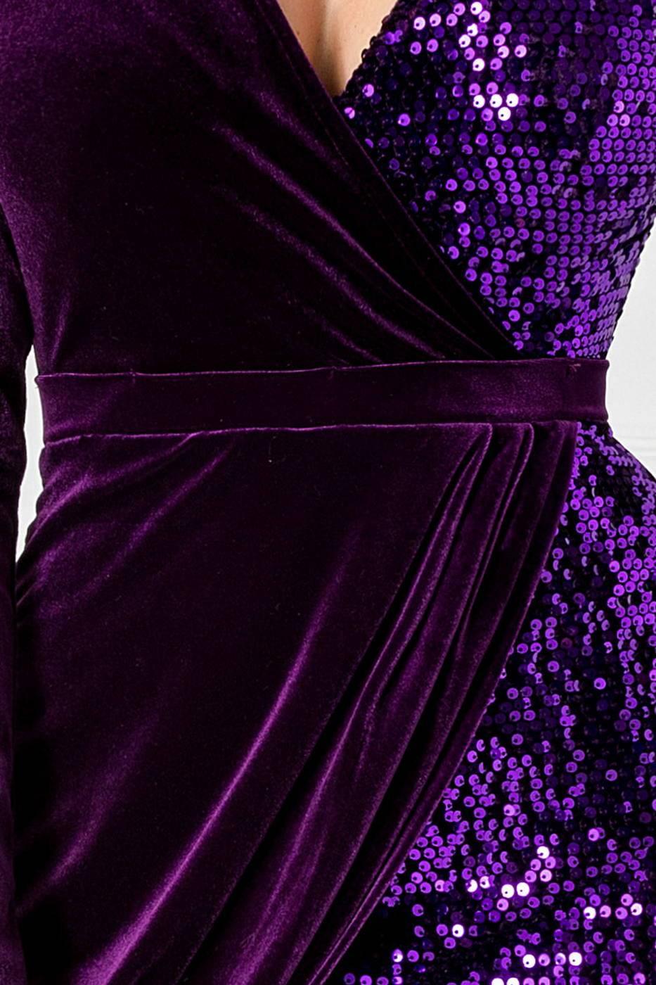 Swan Βιολετί Φόρεμα 1719