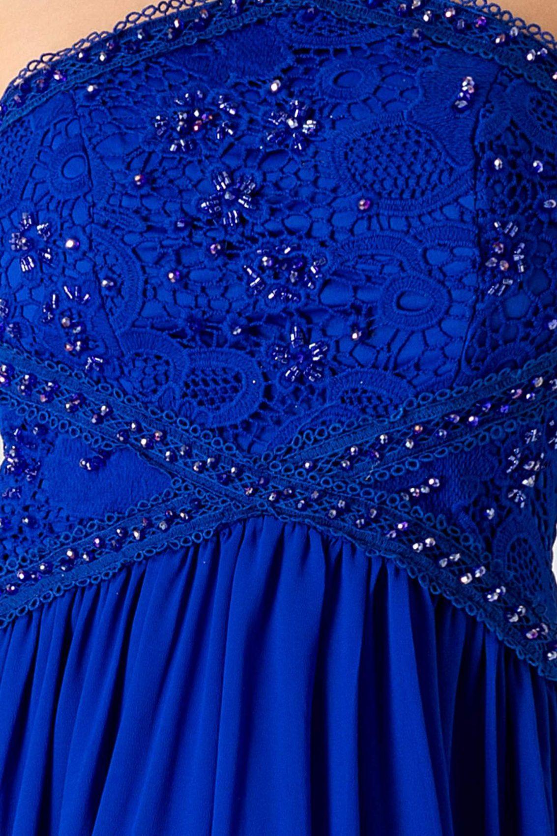 Venice Royal Μπλε Φόρεμα 1774