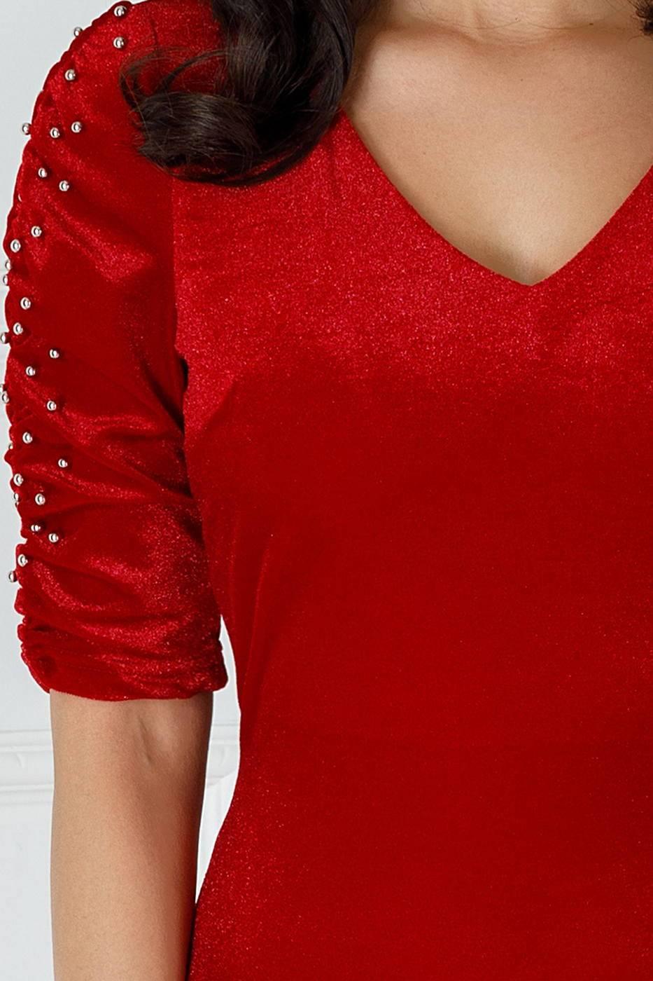 Aylin Κόκκινο Φόρεμα 2201