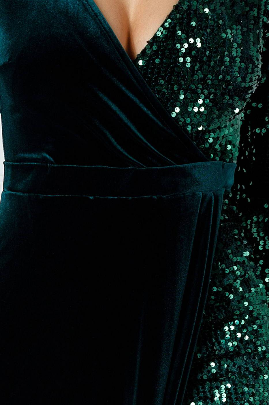 Swan Πράσινο Φόρεμα 2211