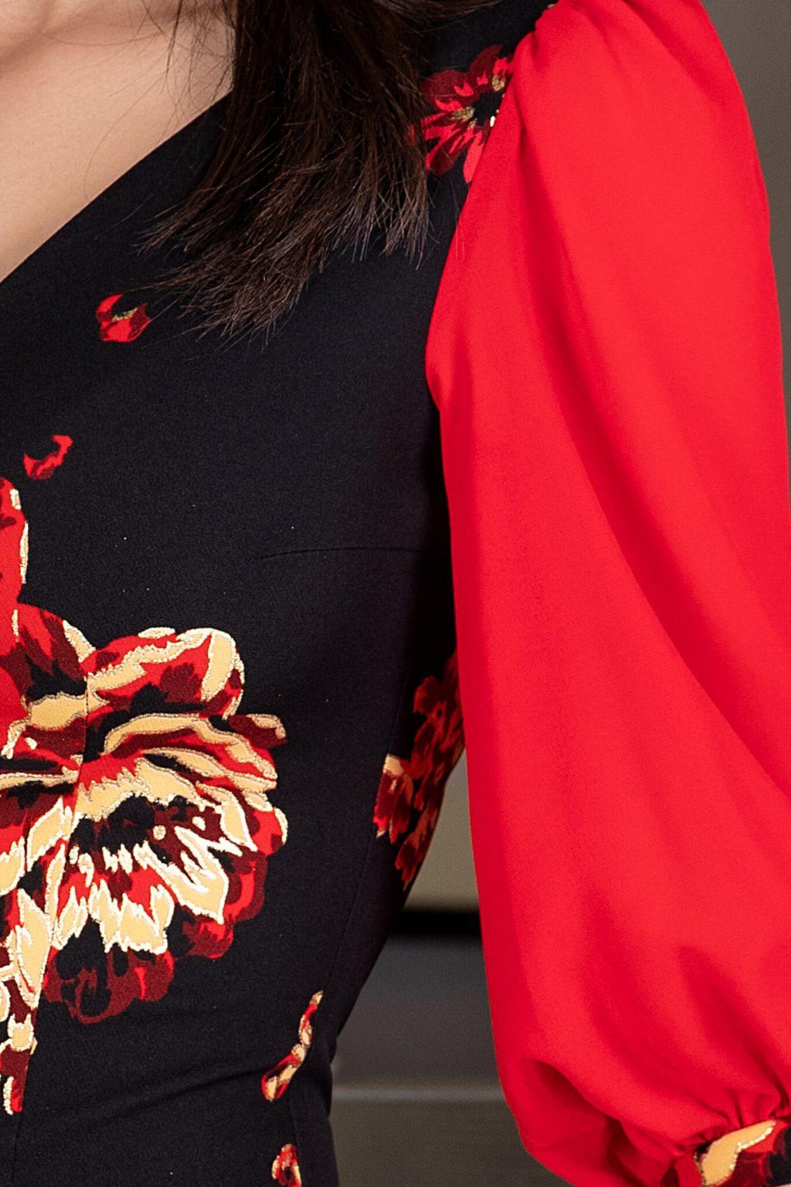 La Donna Blaire Μαύρο Φόρεμα 1167