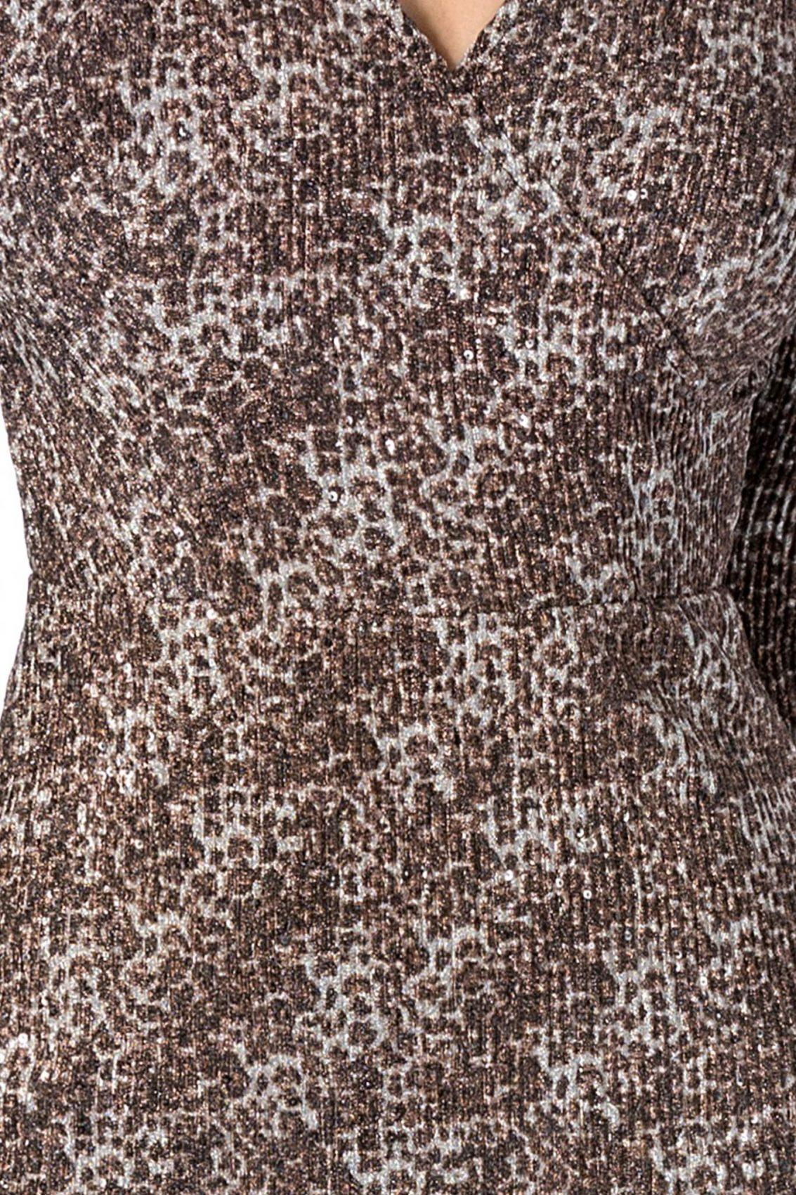Giulia Animal Print Φόρεμα 1752