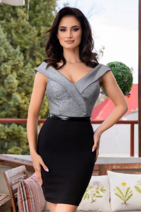 Renee Μαύρο Φόρεμα 2352