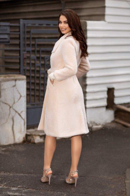 Vens Cream Παλτό 1766