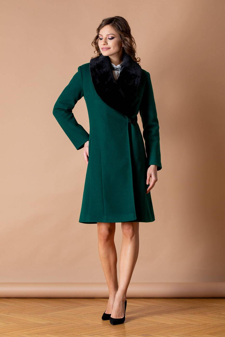 Vogue Πράσινο Παλτό 5297