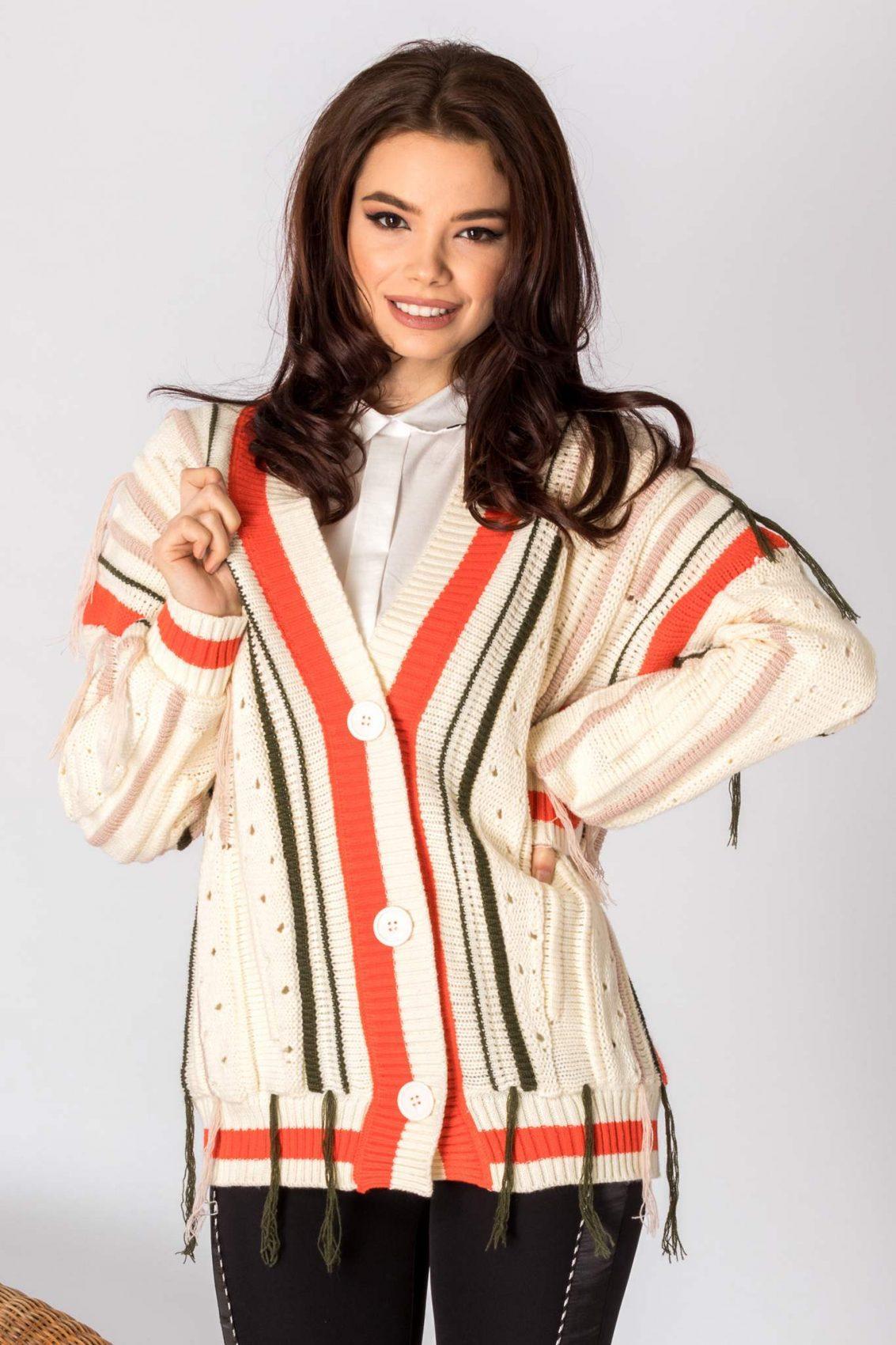Spencer Cream Sweater 1
