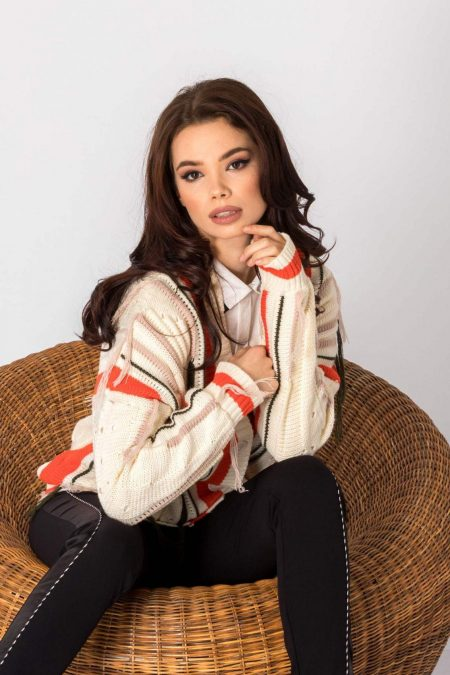 Spencer Cream Sweater