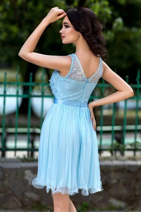 Yolanda Μπλε Φόρεμα 4328