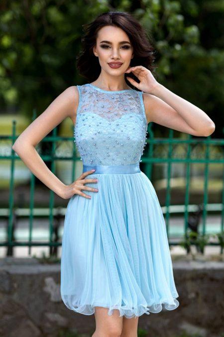 Yolanda Blue Dress
