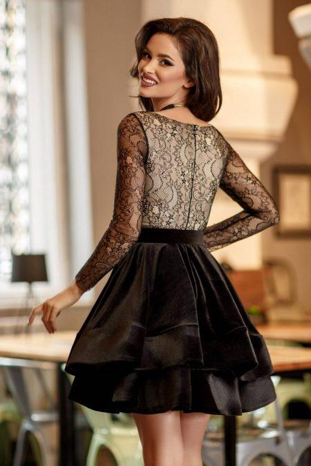 Bella Μαύρο Φόρεμα 2355