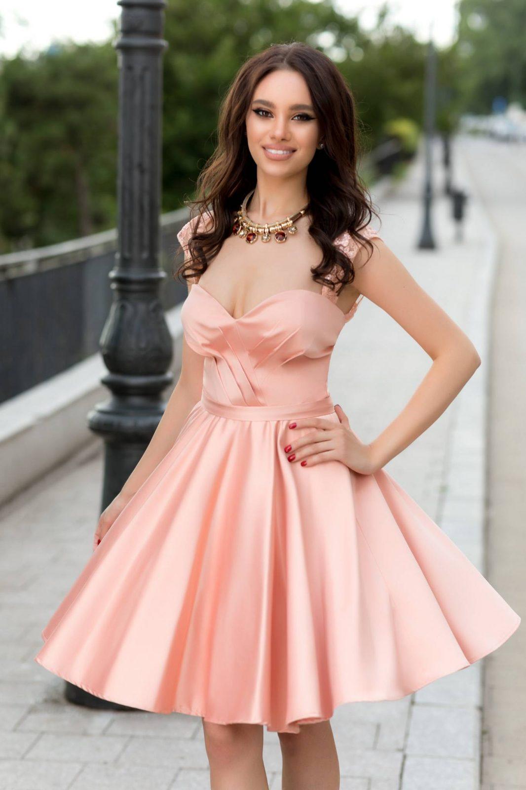Adorable Peach Dress