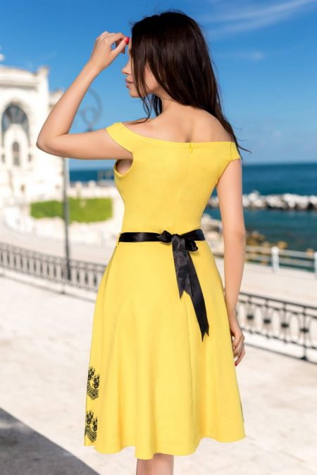 Ryanna Κίτρινο Φόρεμα 1370