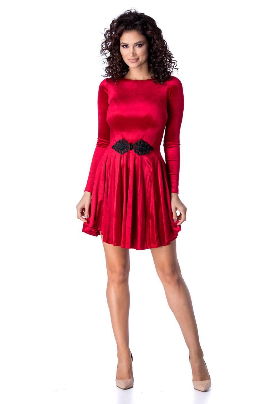 Mirrey Marsala Dress