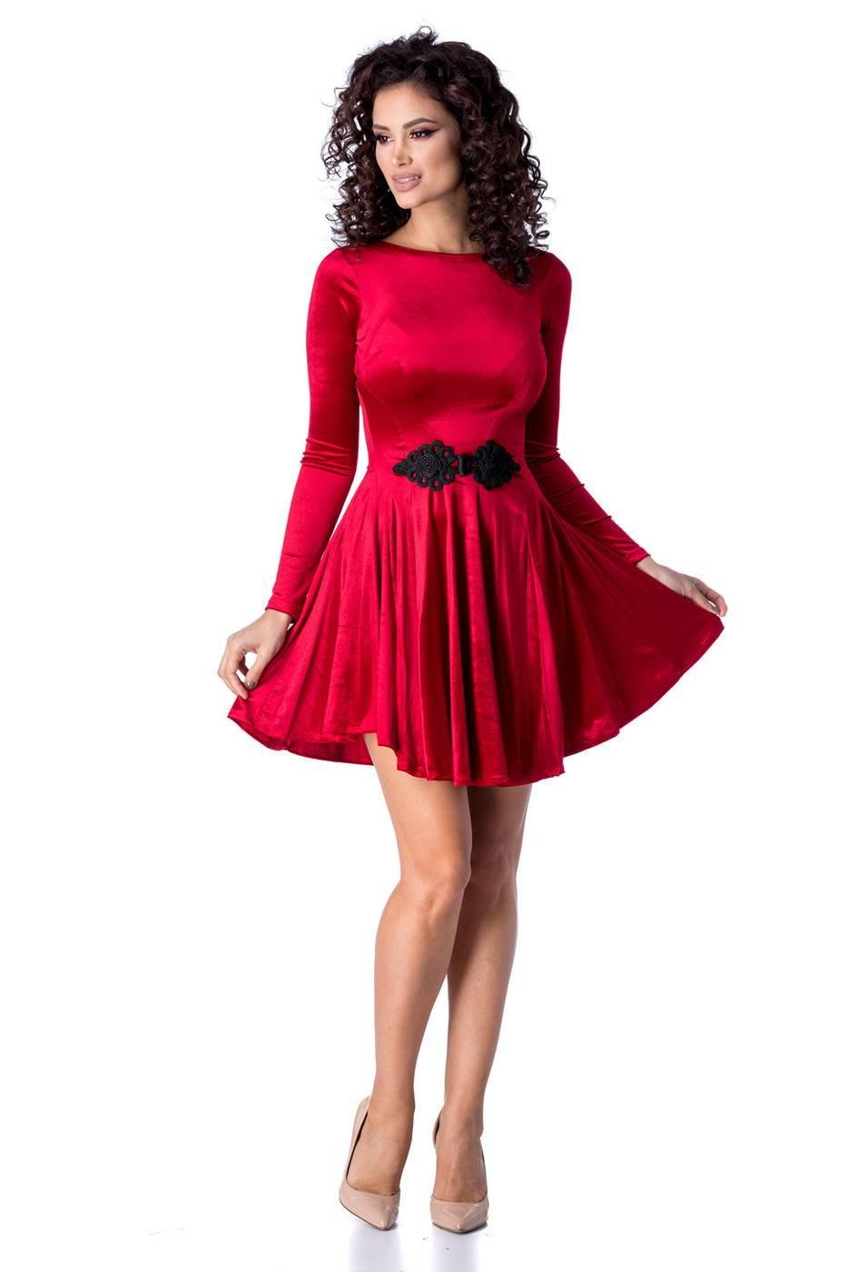 Mirrey Κόκκινο Φόρεμα 4530