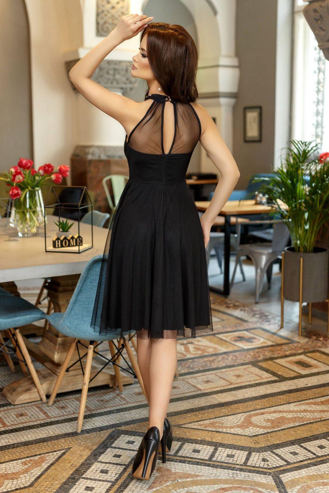 Savannah Μαύρο Φόρεμα 1409