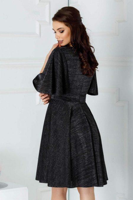 Siena Μαύρο Φόρεμα 1270