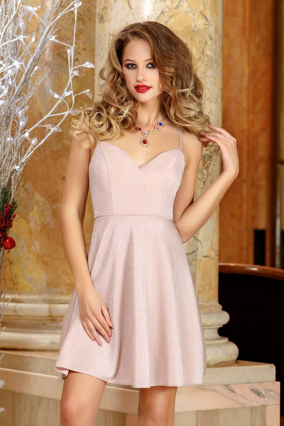 Dove Rose Dress