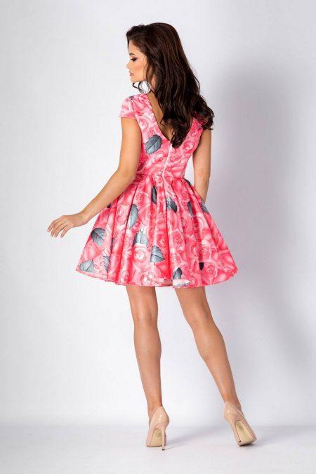 Molly Ροζ Φόρεμα 1354