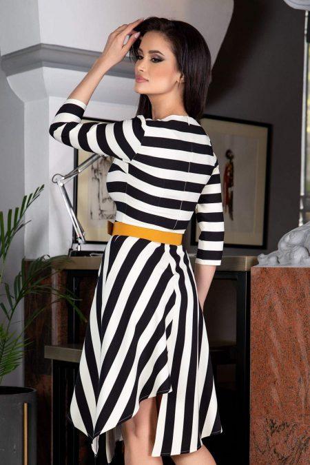 Eleni Bicolored Φόρεμα 3113