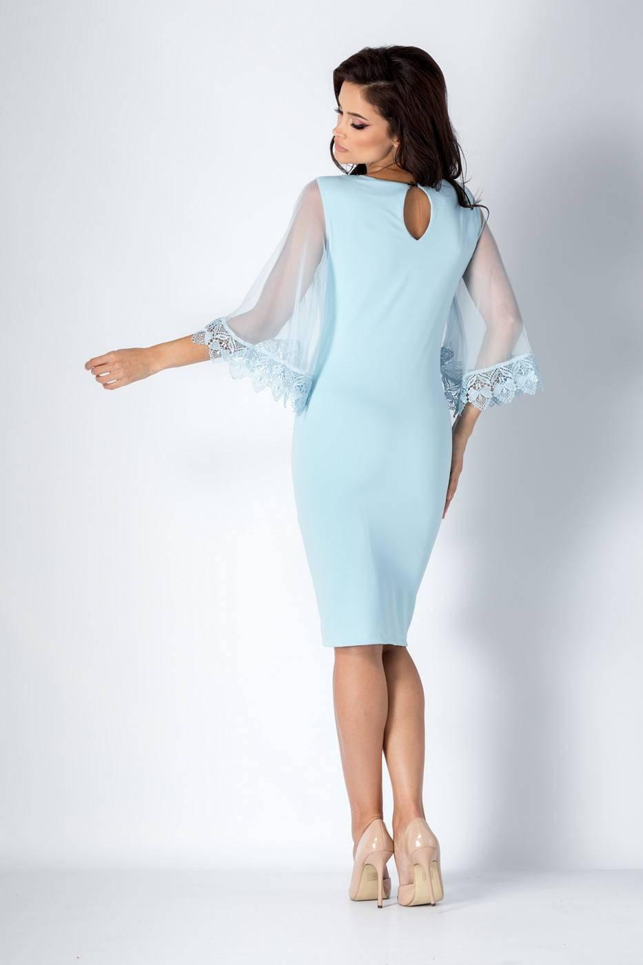 Emel Γαλάζιο Φόρεμα 1359