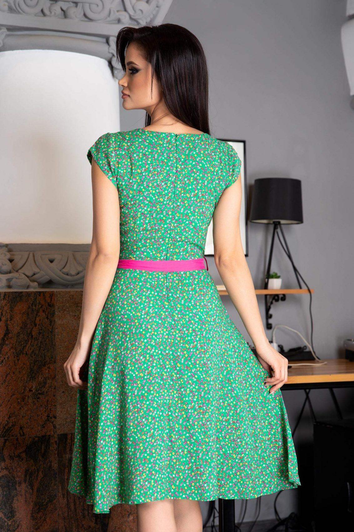 Melya Πράσινο Φόρεμα 3117