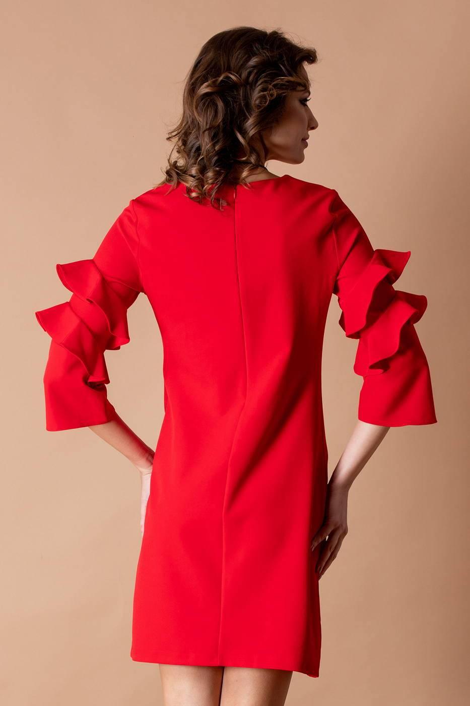 Hanna Κόκκινο Φόρεμα 1873
