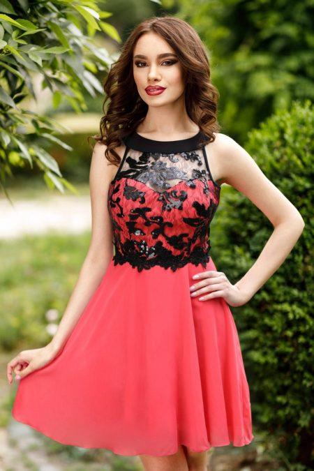 Fiesta Coral Dress