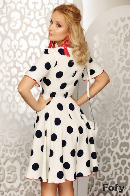 Rania Άσπρο Φόρεμα 2016