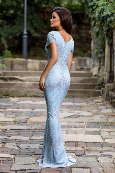 Kimberley Γαλάζιο Φόρεμα 2271