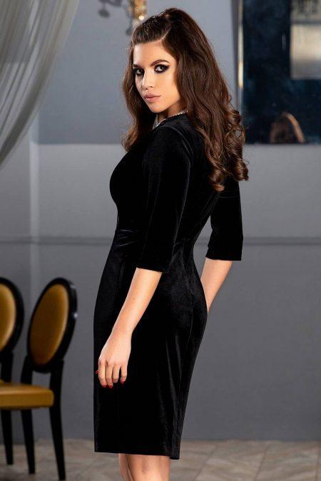 Thea Μαύρο Φόρεμα 1852