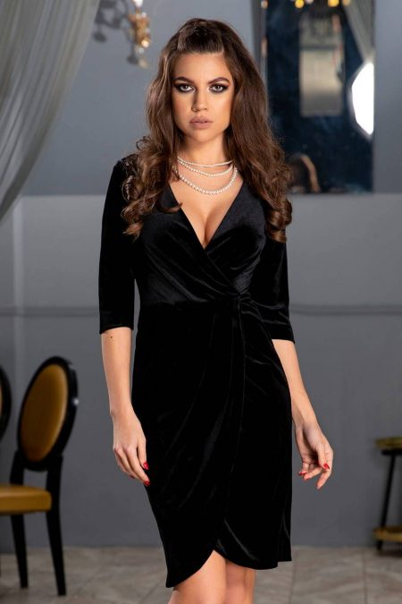 Thea Black Dress