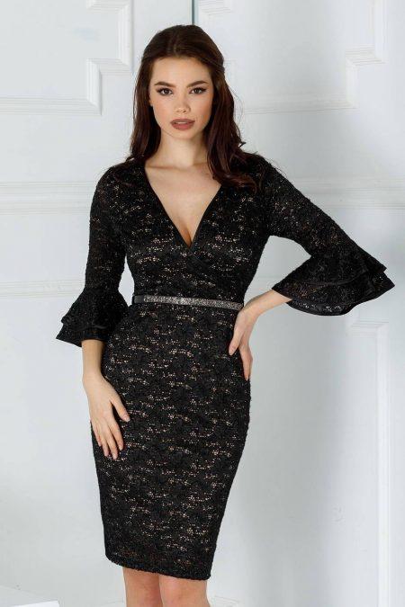 Eloise Μαύρο Φόρεμα 2194