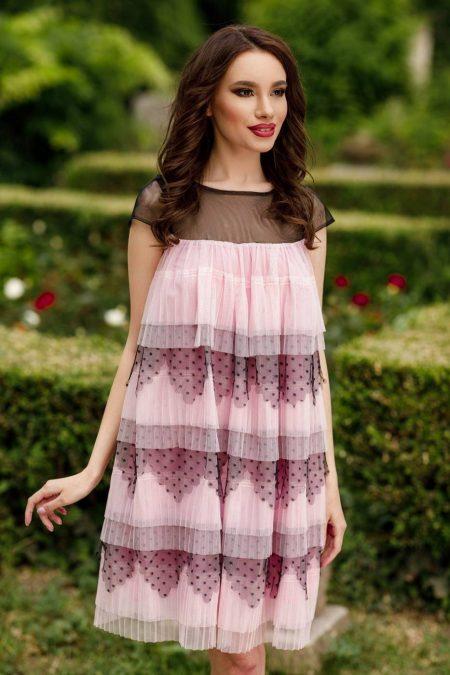Timeea Pink Dress