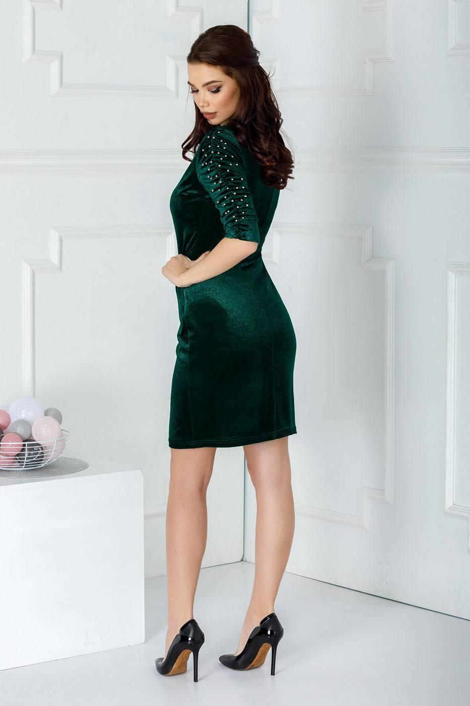Aylin Πράσινο Φόρεμα 2202