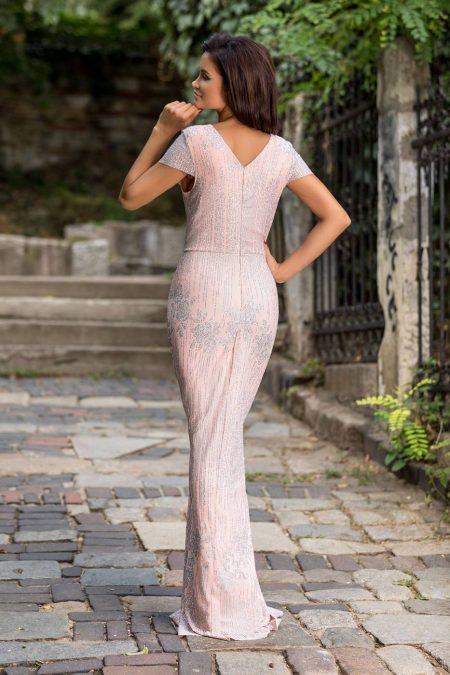 Kimberley Ροζ Φόρεμα 2269