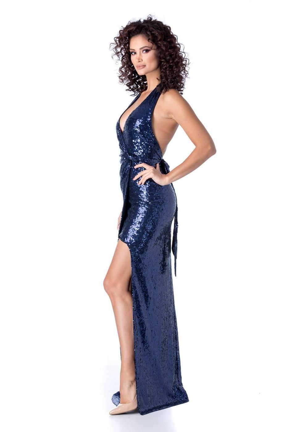 Laguna Navy Μπλε Φόρεμα 1216