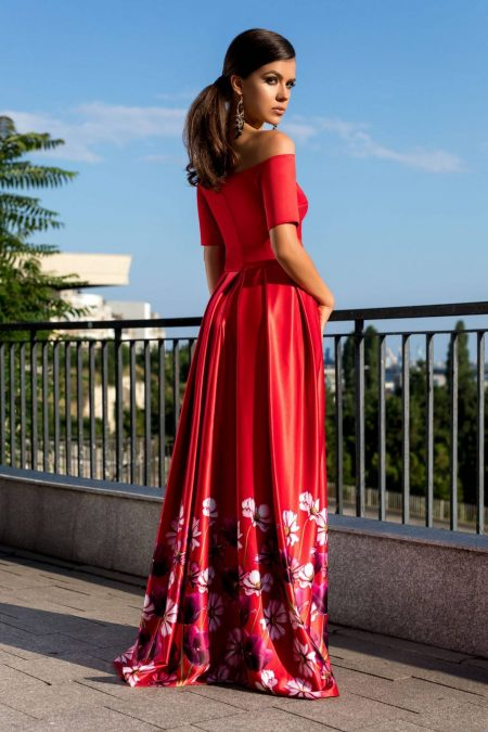 Magnificent Κόκκινο Φόρεμα 2318