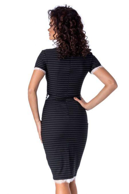 Lucy Μαύρο Φόρεμα 1249