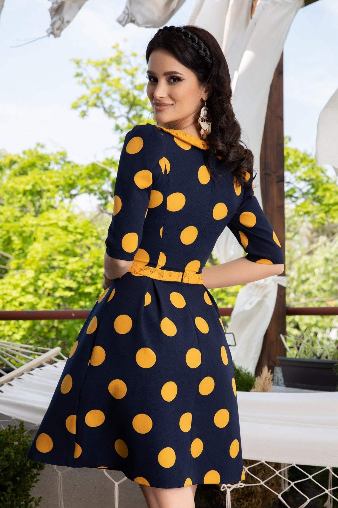 La Donna Nadira Bicolore Φόρεμα 1137