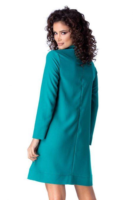 La Donna Edith Γαλάζιο Φόρεμα 1229