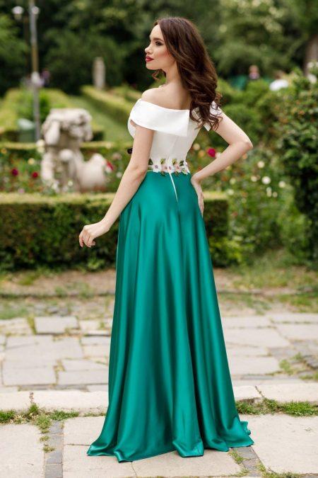 Jewel Πράσινο Φόρεμα 4374