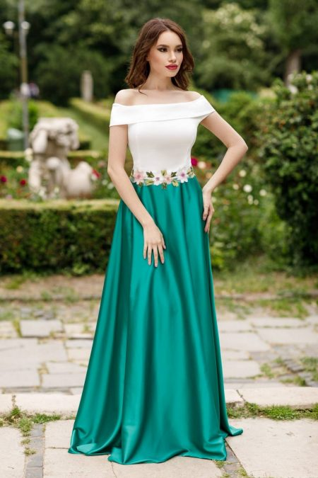 Jewel Green Dress