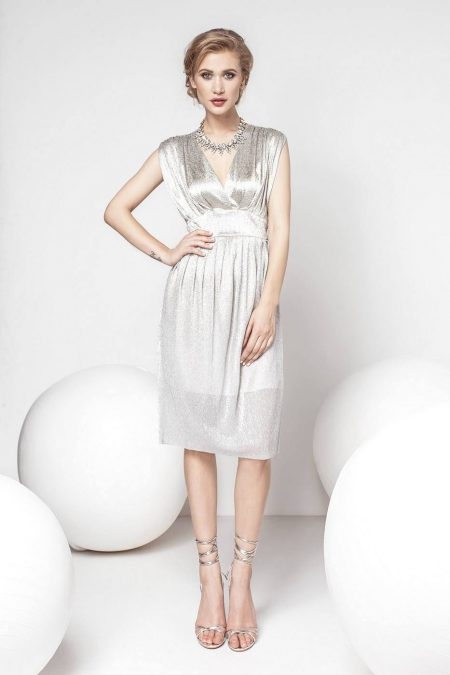 Noriella Silver Dress