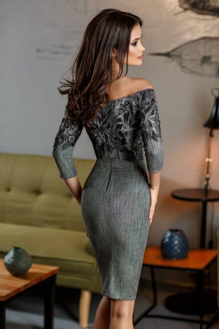 Laurette Γκρι Φόρεμα 2361