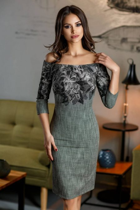 Laurette Gray Dress