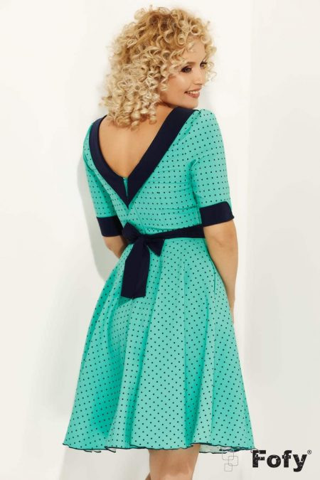 Rhina Πράσινο Φόρεμα 1143