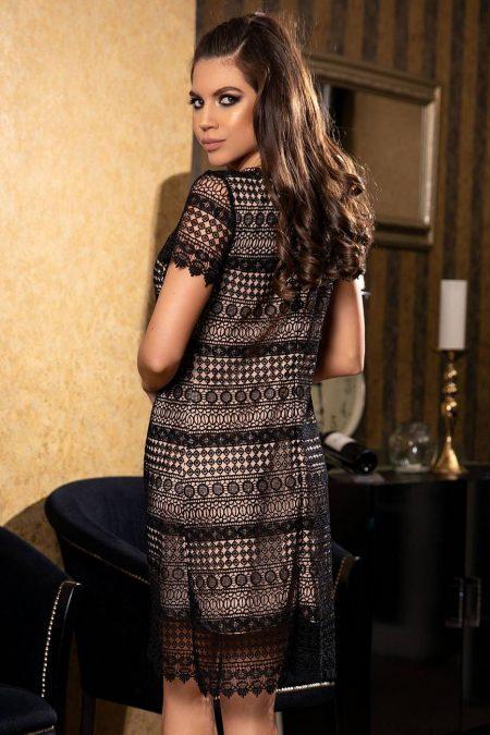 Gyana Μαύρο Φόρεμα 1851