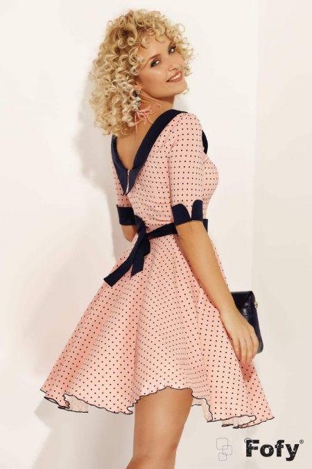 Rhina Ροζ Φόρεμα 1721
